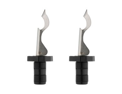 Barware 2pce Clamp Botttle Stopper Gift Set