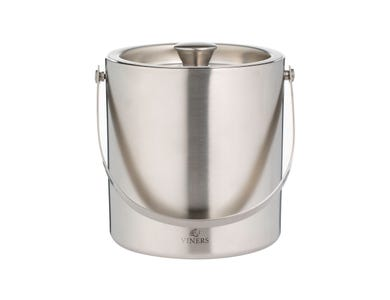 Barware 1.5l Silver Double Wall Ice Bucket