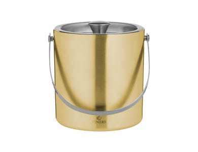 Barware Ice Bucket Double Wall Gold 1.5l