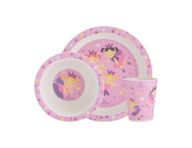 Image for Fairies 3pc Kids Dinnerware