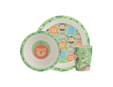Image for Jungle 3pc Kids Dinnerware