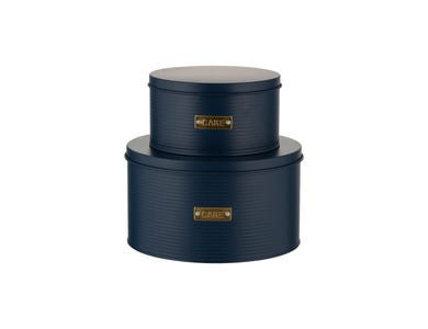 Otto Navy Set 2 Cake Tins