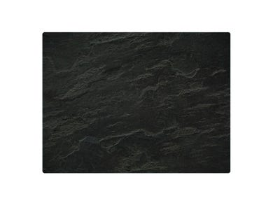 Image for Slate Effect 40x30cm Glass Worktop Protector