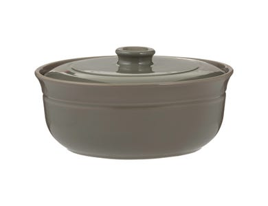 World Foods Green 2.5l Casserole Dish