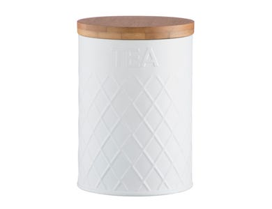 Image for Embossed White Tea Storage