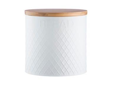 Image for Embossed White Bread Bin