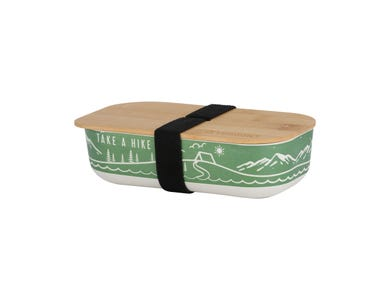 Pure Stay Wild Bamboo Fibre Lunch Box