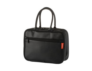 Pure Black Lunch Bag