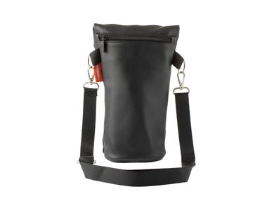 Pure Black Bottle Bag
