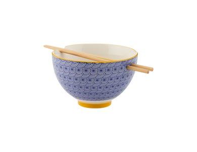 World Foods Noodle Bowl With Chopsticks