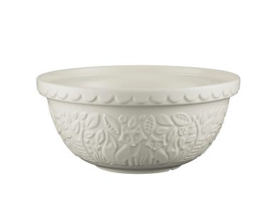 Image for In The Forest S12 Cream Mixing Bowl 29cm
