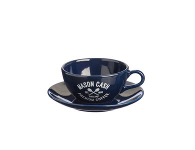 Image for Varsity Blue Cappuccino & Saucer