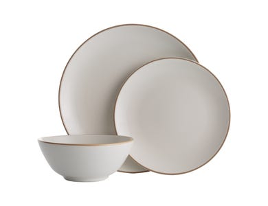 Image for Classic Collection Cream 12 Piece Dinner Set