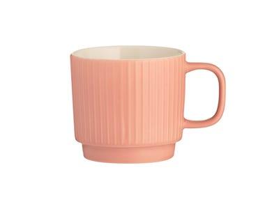 Image for Embossed Line Coral Mug