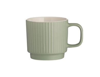 Image for Embossed Line Green Mug