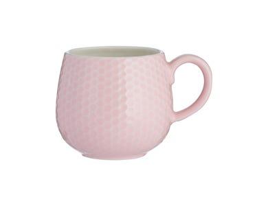 Image for Embossed Honeycomb Pink Mug