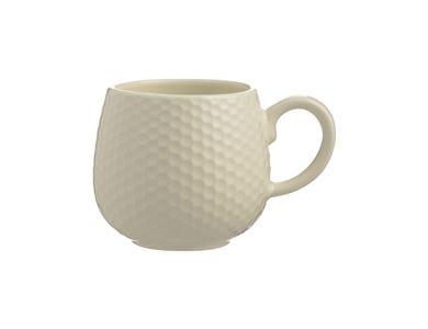 Image for Embossed Honeycomb Cream Mug
