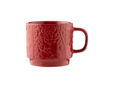 In The Forest Mug Red