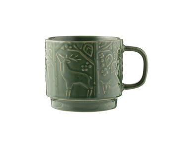 In The Forest Mug Green