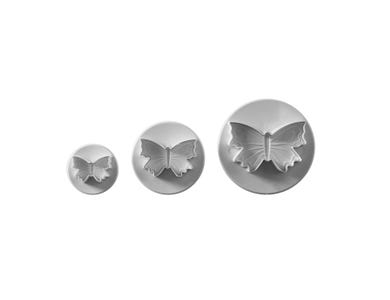 Image for Set Of 3 Butterfly Plunger Cutters