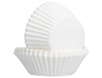 Image for Set Of 50 White Cupcake Cases