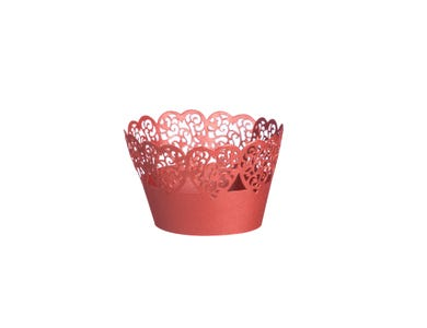 Image for 12 Heart Cupcake Wraps