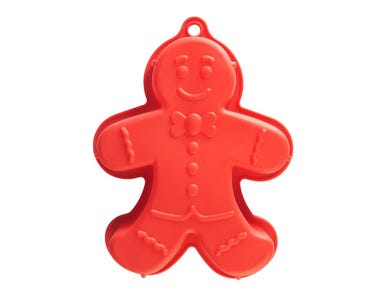 Image for Silicone Gingerbread Man Cake Mould