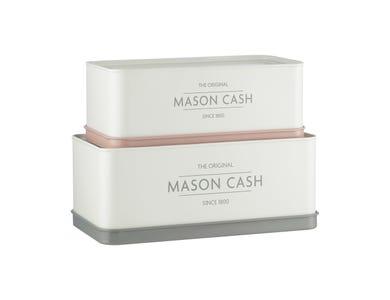 Mason Cash Innovative Kitchen Set of 2 Rectangular Tins