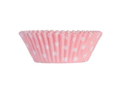 Image for Set 40 Pink Polka Dot Cases