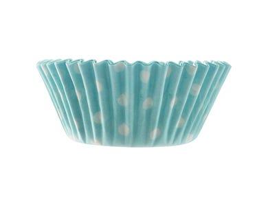 Image for Set 40 Blue Polka Dot Cases