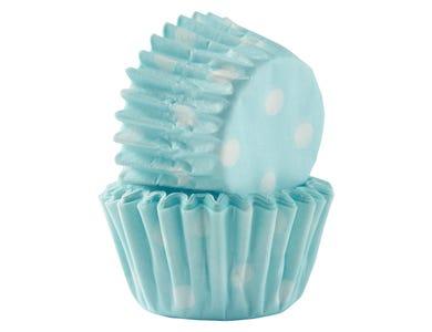 Image for Set 60 Blue Polka Mini Cases