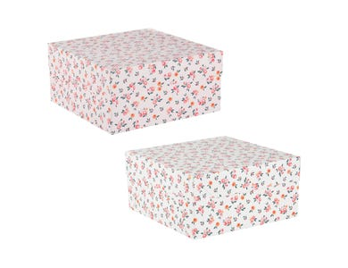 "10"" Blossom Cake Box - Assorted"