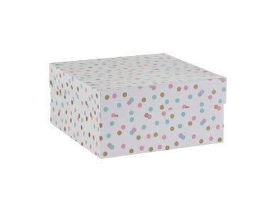 """10"""" Confetti Cake Box"""