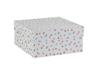 """12"""" Confetti Cake Box"""