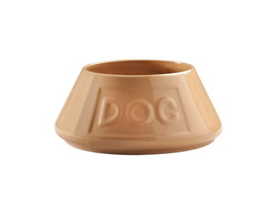 Image for Cane Non Tip Lettered Dog Bowl 21cm