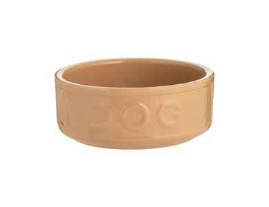 Image for Cane Lettered Dog Bowl 18cm