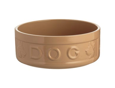 Image for Cane Lettered Dog Bowl 25cm