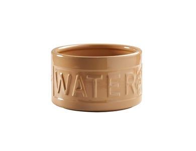 Image for Cane Lettered Dog Water Bowl 15cm
