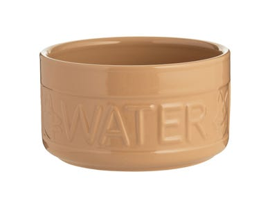 Image for Cane Lettered Dog Water Bowl 20cm