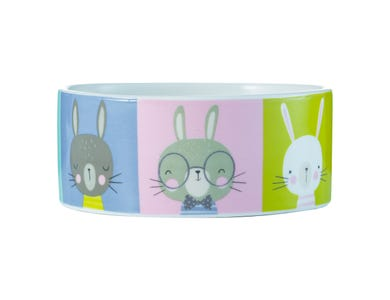 Image for Pawtrait Rabbit Bowl 12x5cm