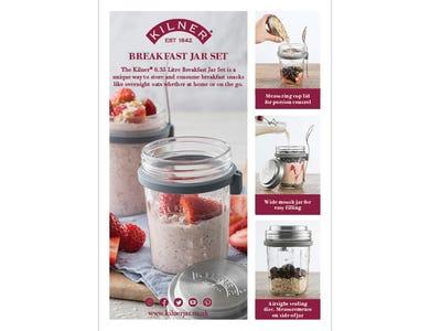 Image for A5 Kilner Breakfast Jar