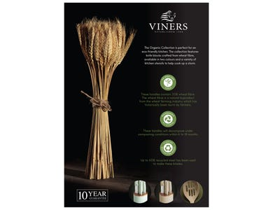 Image for Viners Organic Collection A4 Strut Card