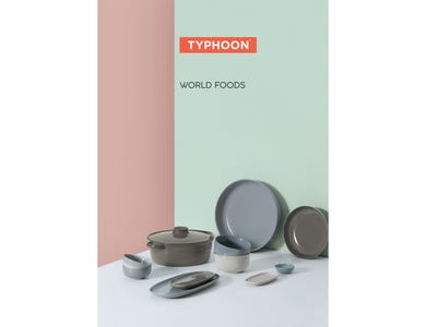 Image for Typhoon World Foods A5 Strut Card