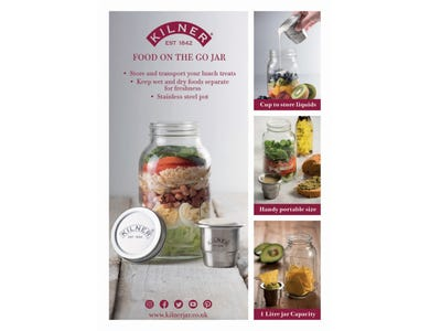 Image for Food On The Go Jar A4 Pos