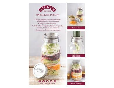 Image for Spiralizer Jar Set A4 Pos