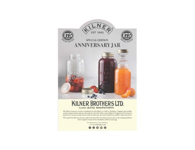 Image for Kilner Anniversary Pos A4 Strut Card