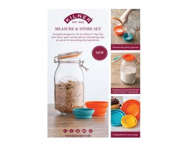 Image for Kilner Measure & Store Set A4 Strut Card