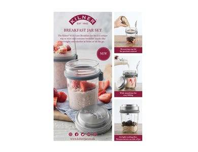 Image for Breakfast Jar Set A4 Pos