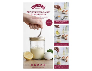 Image for Mayonnaise & Sauce Jar Set A4 Pos