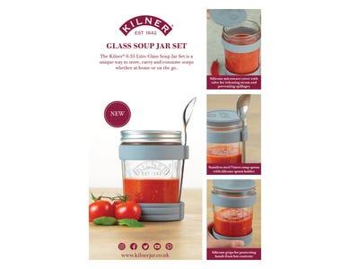 Image for Kilner Soup Jar Set A4 Pos